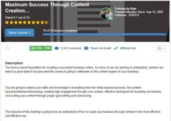 Online Entrepreneur Certification Level 5