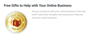 Free Gifts Online Business